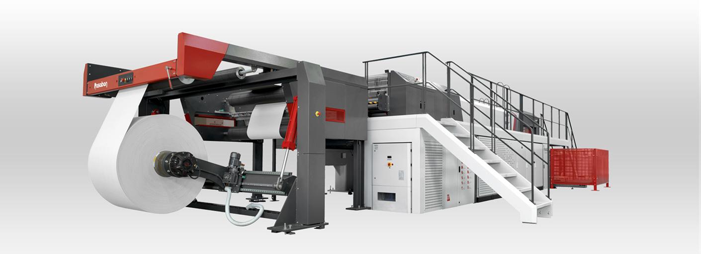 Paper converting machinery - Pasaban