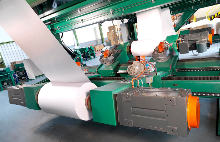 paper sheeting machine: detail 7 of 8